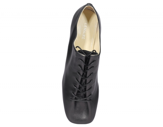 HEELED DERBY LACED UP SHOES